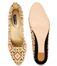 Women's Croslite Sole Material Ballerinas Low Heel Sandal