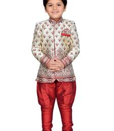 Buy Kids Sherwani with Pyjama Set boys-sherwani online