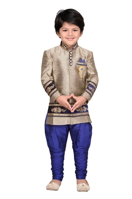 Kids Sherwani with Pyjama Set