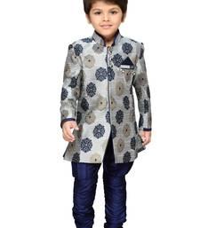 Kids Sherwani with Pyjama Set