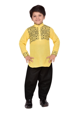 Kids Pathani Kurta Pyjama Set