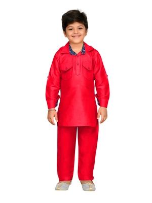 b8fb2a0d6f Kids Pathani Kurta Pyjama Set - AJ Dezines - 2721127