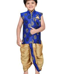Kids Traditional Angrakha with Dhoti