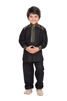 Kids Pathani Kurta Pyjama Set
