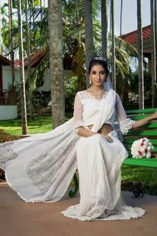 b77ea03c58 White Colour Wedding Sarees Online | Buy fashionable White Wedding ...