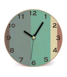 Buy Sober Day Wooden 2 in 1 Table cum Wall Clock by Engrave wall-clock online