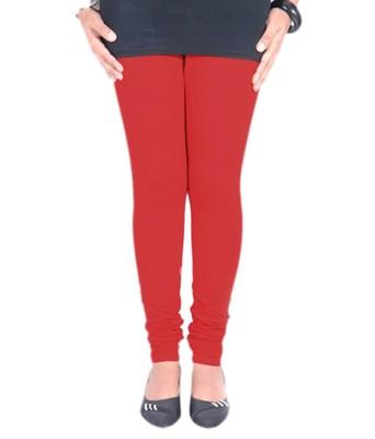 Pink Cotton Lycra plain Cotton Lycra leggings