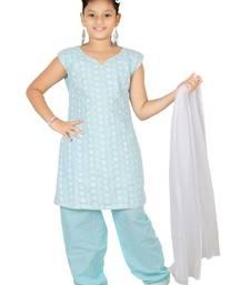 Trendy Girls  Cotton Chudidar Dress