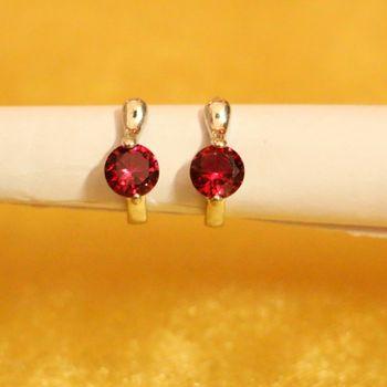 Red Ruby       Hoops