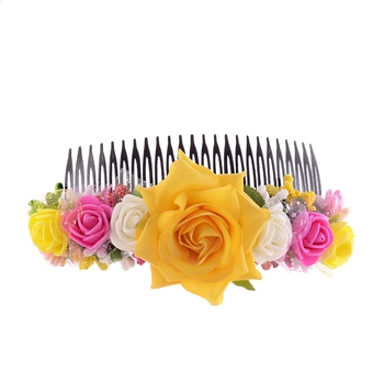 Latest Fashion Flower Hair Pin For Parties