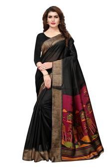 11d772025 Black Sarees - Buy Black Color Saree online   Best Prices