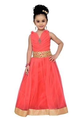 Gajri Kids Partywear Gown For Girls