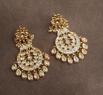 Sasha kundan earrings