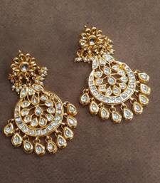 Chandbali Buy Gold Design Chand Balis Earrings Jewellery Online
