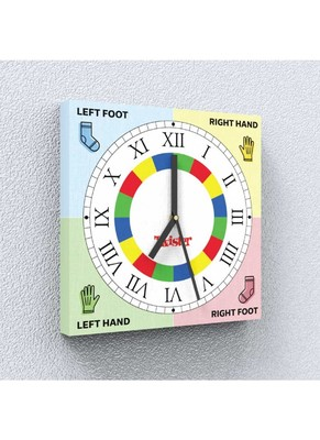 Twistime Canvas Wall Clock by Engrave