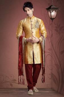 50d4c59b64 Sherwani for Men - Buy Designer Sherwanis Online | शेरवानी ...