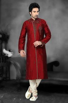 2557609bbb Sherwani for Men - Buy Designer Sherwanis Online   शेरवानी ...