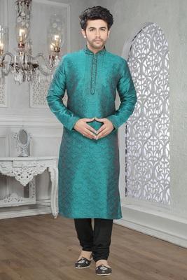 Feroze Embroidered Jacquard Mens Kurta Pajama