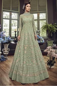 884055bc95 Olive Salwar Kameez - Buy Olive Salwar Kameez Online at Best Prices