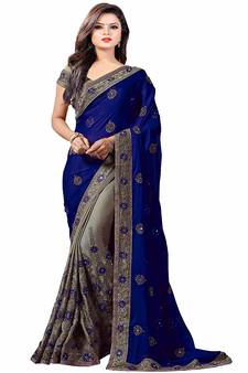 Embroidery Sarees Online Designer Embroidered Work Sarees