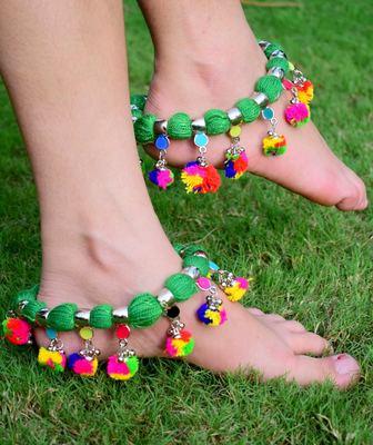 Green Anklets