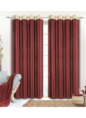 Frimerr multicolor curtain for window, door etc