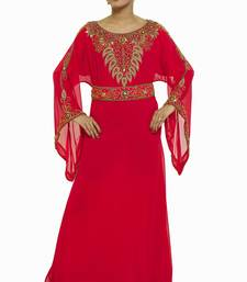 Pink Eid Dubai Kaftan Dress Moroccan Kaftan Dress