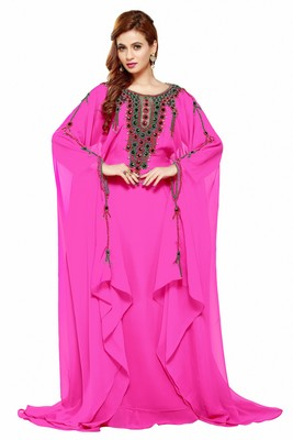 Pink New Hand Embroidery Work By Al Mehraan Fashion For Women Gown