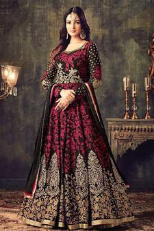 8d50d384e0b Black Salwar Suit – Buy Latest Black Color Salwar Kameez Online