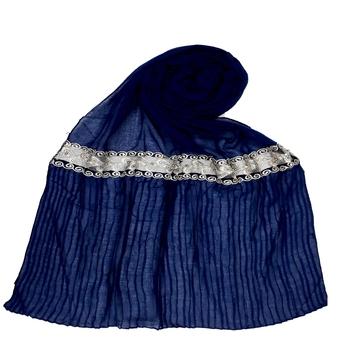 Blue Premium Cotton Hijab