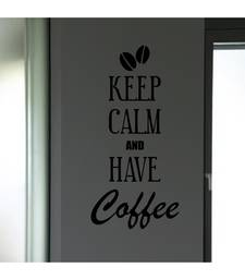 Keep calm and have coffee Quote Decal