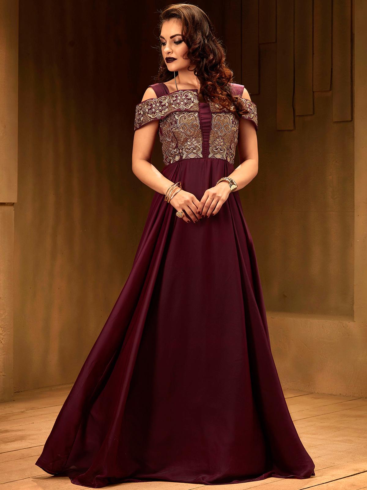 Elegant Simple Indian Wedding Dresses