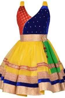 22802b2e4 Indian Frocks for Girls | Buy Designer Kids Frocks Online