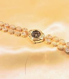 kundan wrist watch