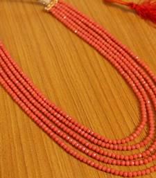 Orange Onyx Necklaces