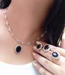 Buy Black diamond chokers choker online