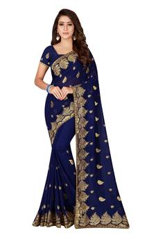 720839f184f131 Embroidery Sarees Online | Designer Embroidered Work Sarees