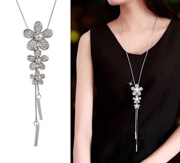 Blue cubic zirconia necklace sets