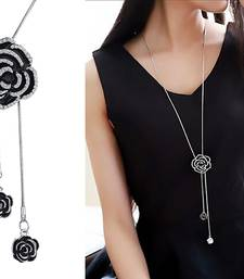 Black cubic zirconia necklace sets