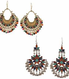 Buy Multicolor pearl earrings combo-earring online