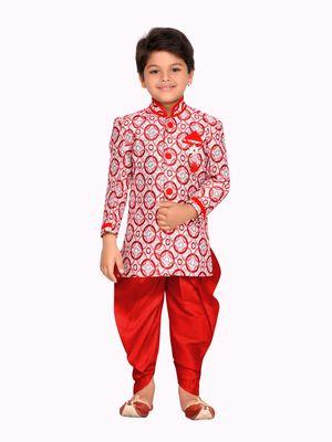 KIds Party Wear Dhoti Sherwani Set for Kids
