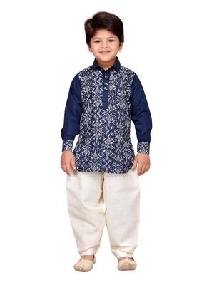 Kids Ethnic Wear Pathani Suit