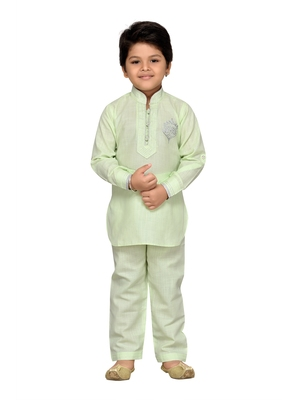 KIds Regular Fit Kurta Pyjama