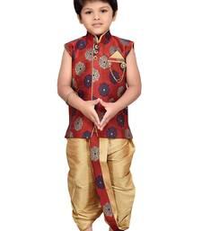 Kids Angrakha Dhoti Pant Set