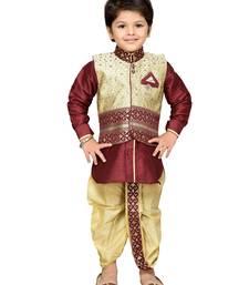 Kids Dhoti Kurta Waistcoat Set