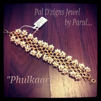 Phulkaari ...Gajra Bracelet