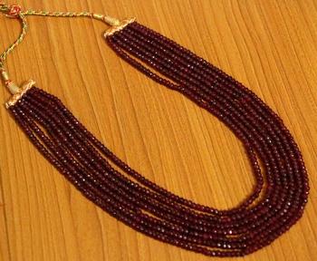 Maroon Onyx Necklaces