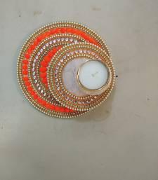 Multicolour Acyralic diwali decorations 1 Diya with T lite
