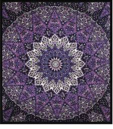 Buy Indian Wall Hanging Tapestry Bedspread Tapestry Mandala Home Decor Beach Throw Picnic Sheet Hippie Boho Bohemian tapestry online