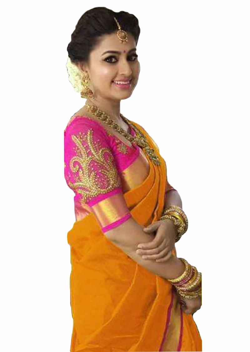 357ef13b5ecc16 Orange Color Sarees - Buy Orange Saree Online @ Best Prices